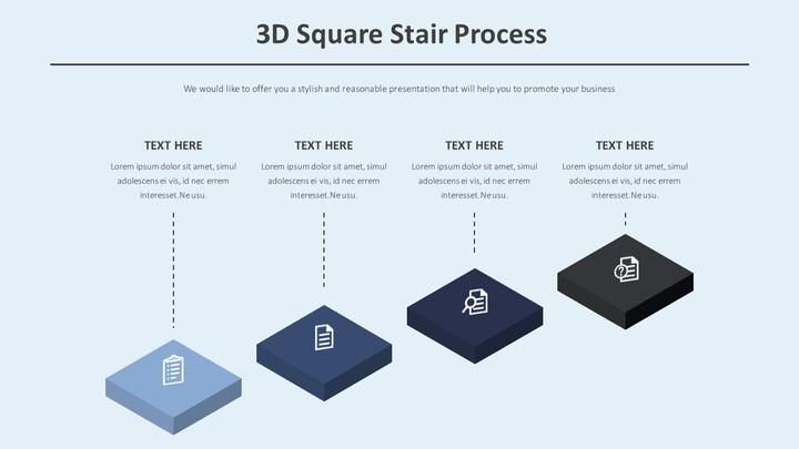 3D 스퀘어 계단 과정 다이어그램_01