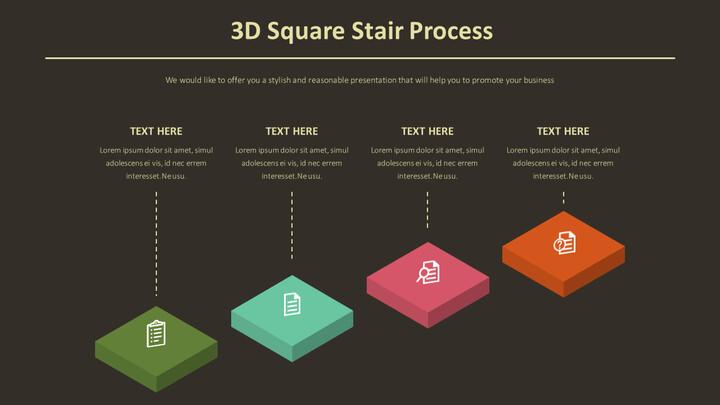3D 스퀘어 계단 과정 다이어그램_02