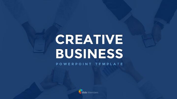 창의적인 사업 슬라이드 프레젠테이션_01