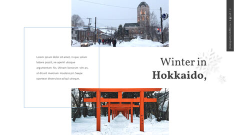 Sapporo Snow Festival Theme Presentation Templates_04