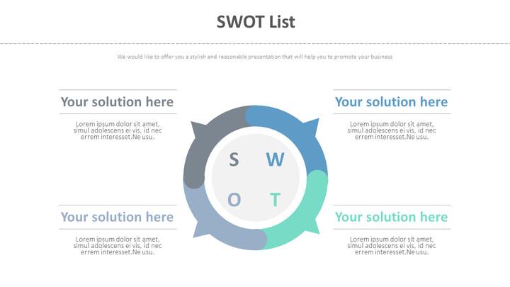 SWOT 목록 다이어그램_01