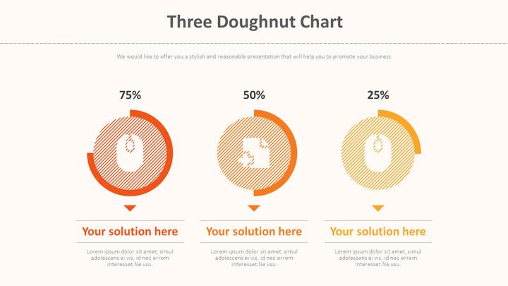 Three Doughnut Chart Diagram_01