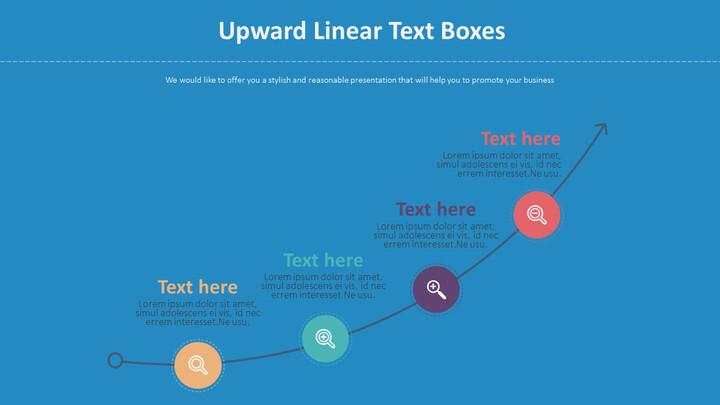 Upward Linear Text Boxes Diagram_02