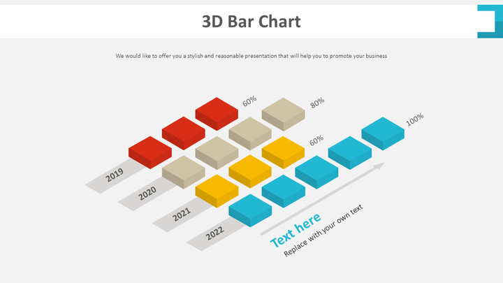 3D <span class=\'highlight\'>바</span> 차트 다이어그램_01