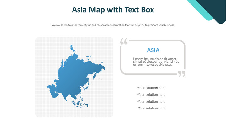 Asia Map with Text Box Diagram_01