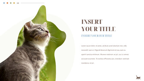 Cat Presentation PowerPoint Templates Design_02
