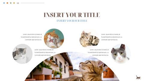 Cat Presentation PowerPoint Templates Design_05