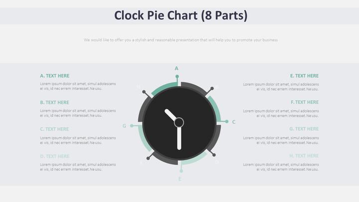 Clock Pie Chart Diagram (8 Parts)_02