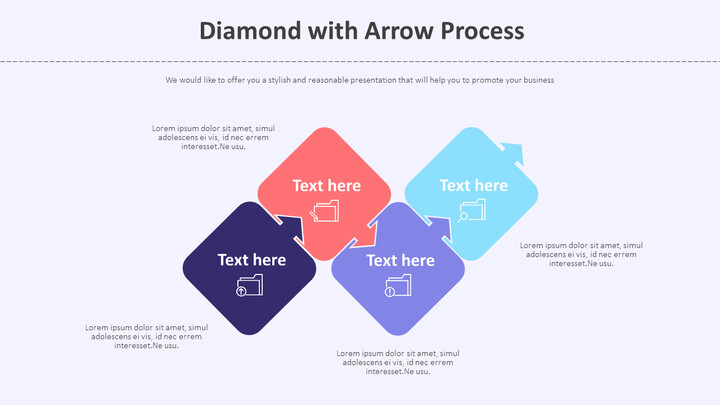화살표 프로세스가 적용된 다이아몬드 다이어그램_01