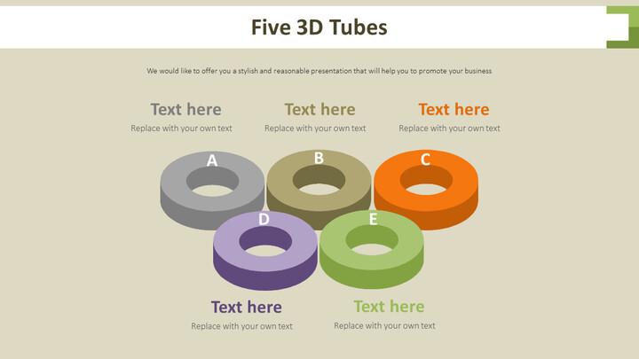 5 개의 3D 튜브 다이어그램_02