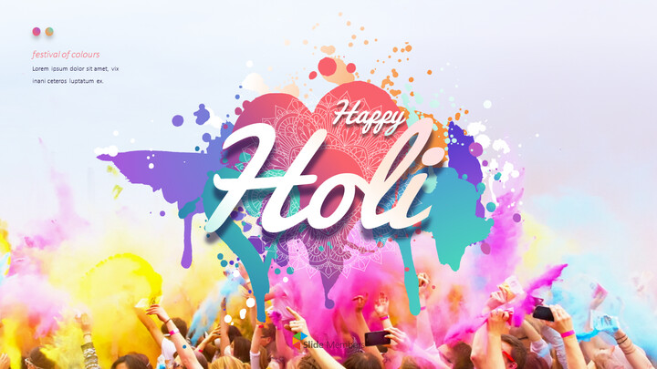 Happy Holi PowerPoint Presentation Templates_01