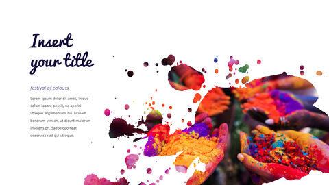 Happy Holi PowerPoint Presentation Templates_04