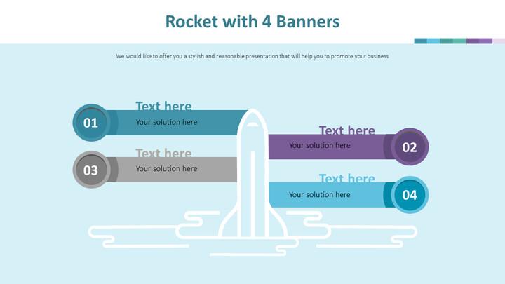 4 개의 배너가있는 로켓 다이어그램_02