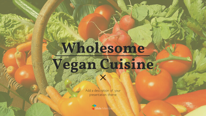 Wholesome Vegan Cuisine PowerPoint Templates_01