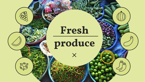 건강에 좋은 채식 요리 파워포인트 템플릿_03