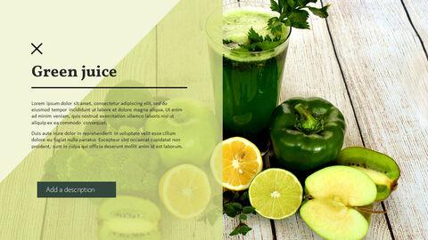 건강에 좋은 채식 요리 파워포인트 템플릿_06
