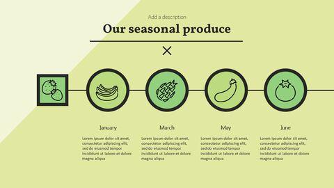 건강에 좋은 채식 요리 파워포인트 템플릿_09