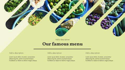 건강에 좋은 채식 요리 파워포인트 템플릿_13