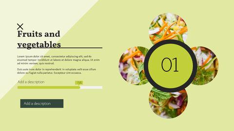 건강에 좋은 채식 요리 파워포인트 템플릿_19