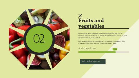 건강에 좋은 채식 요리 파워포인트 템플릿_20