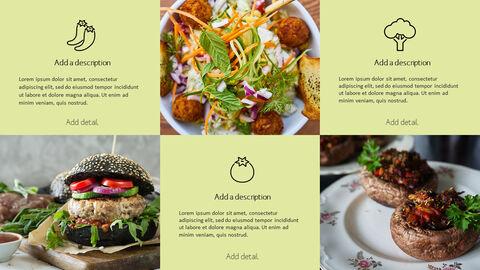 건강에 좋은 채식 요리 파워포인트 템플릿_21