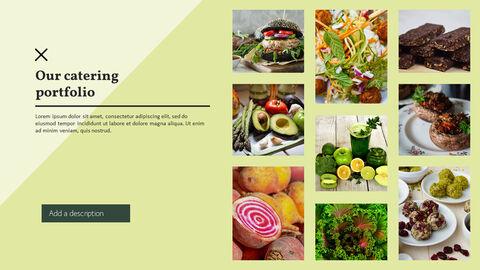 건강에 좋은 채식 요리 파워포인트 템플릿_22