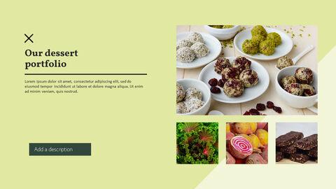 건강에 좋은 채식 요리 파워포인트 템플릿_23