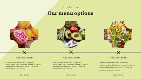 건강에 좋은 채식 요리 파워포인트 템플릿_24