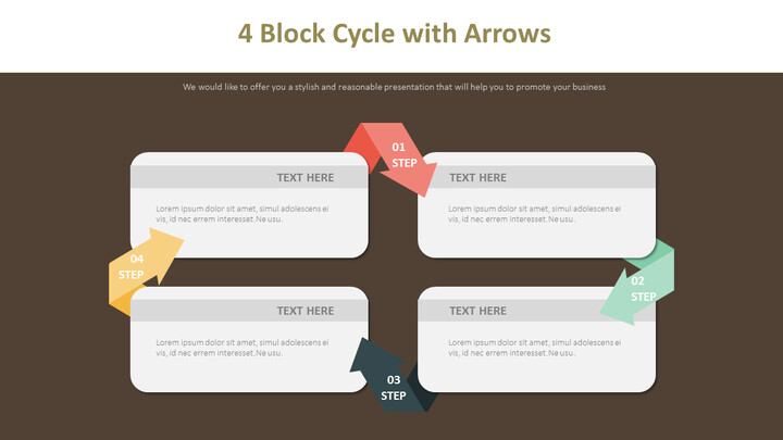 4 Block Cycle with Arrows Diagram_02