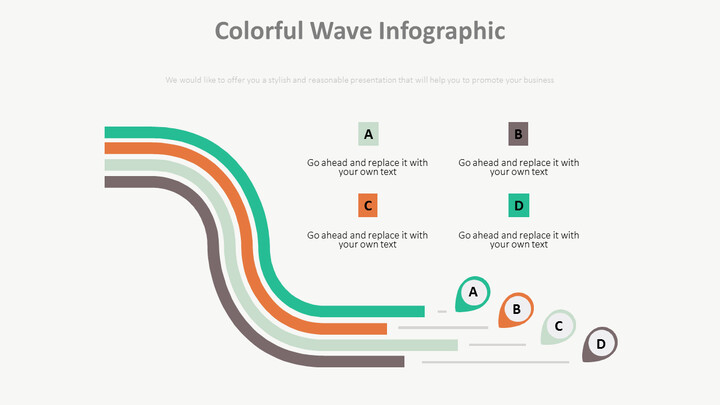 <span class=\'highlight\'>Colorful</span> Wave Infographic Diagram_02