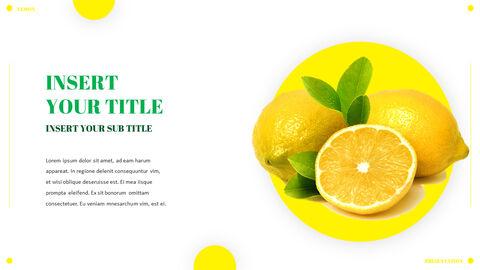 레몬 파워포인트 템플릿 멀티디자인_08