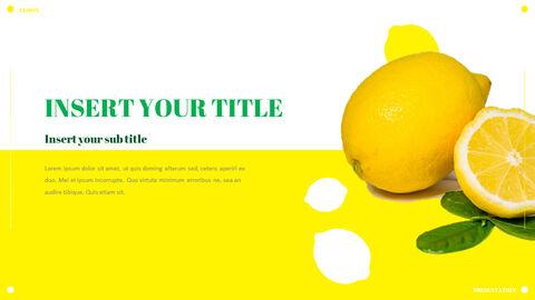 레몬 파워포인트 템플릿 멀티디자인_23