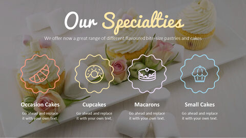 Sweet Cupcakes PowerPoint Templates Design_04