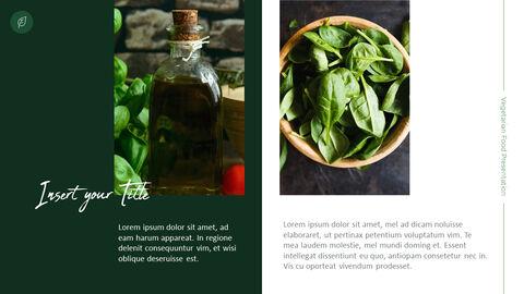 채식주의 자 음식 PowerPoint 프레젠테이션 템플릿_05
