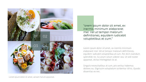Vegetarian Food PowerPoint Presentation Templates_04