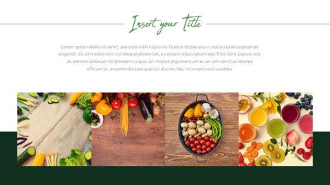 채식주의 자 음식 PowerPoint 프레젠테이션 템플릿_12