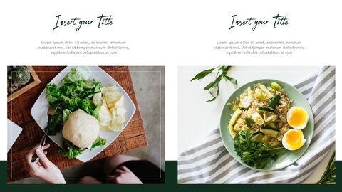 채식주의 자 음식 PowerPoint 프레젠테이션 템플릿_30