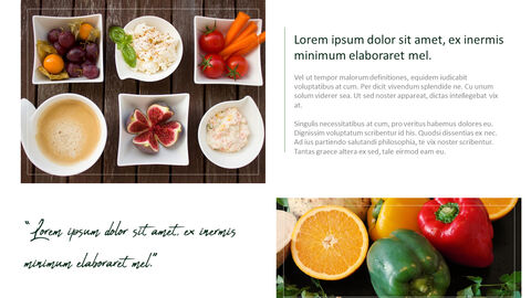 채식주의 자 음식 PowerPoint 프레젠테이션 템플릿_32
