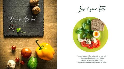채식주의 자 음식 PowerPoint 프레젠테이션 템플릿_34