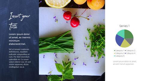 채식주의 자 음식 PowerPoint 프레젠테이션 템플릿_37