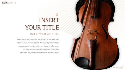 바이올린과 첼로 프레젠테이션 PowerPoint 템플릿 디자인_05