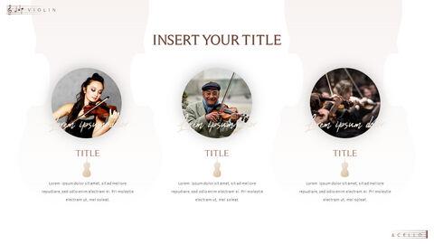 바이올린과 첼로 프레젠테이션 PowerPoint 템플릿 디자인_09