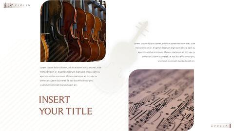 바이올린과 첼로 프레젠테이션 PowerPoint 템플릿 디자인_11