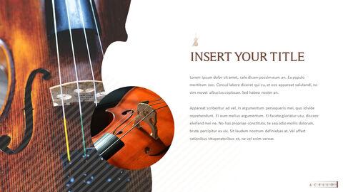 바이올린과 첼로 프레젠테이션 PowerPoint 템플릿 디자인_12