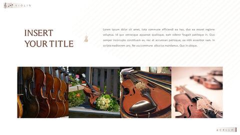 바이올린과 첼로 프레젠테이션 PowerPoint 템플릿 디자인_16