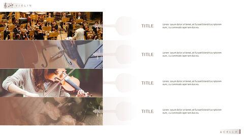 바이올린과 첼로 프레젠테이션 PowerPoint 템플릿 디자인_17