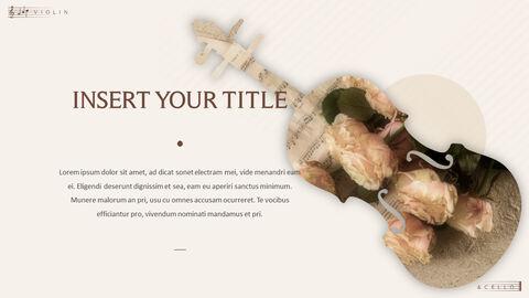 바이올린과 첼로 프레젠테이션 PowerPoint 템플릿 디자인_18