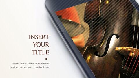 바이올린과 첼로 프레젠테이션 PowerPoint 템플릿 디자인_24