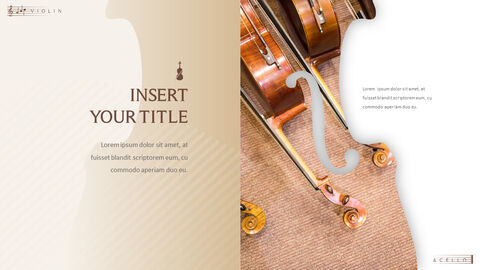 바이올린과 첼로 프레젠테이션 PowerPoint 템플릿 디자인_30