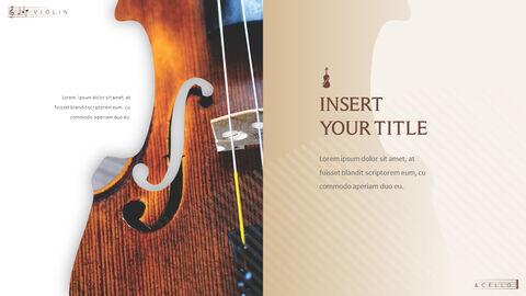 바이올린과 첼로 프레젠테이션 PowerPoint 템플릿 디자인_31